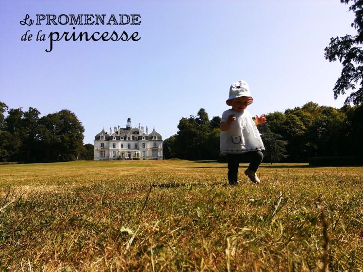 la promenade de la princesse