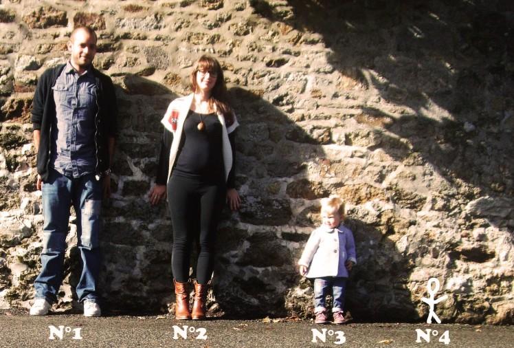 photo de famille annonce grossesse