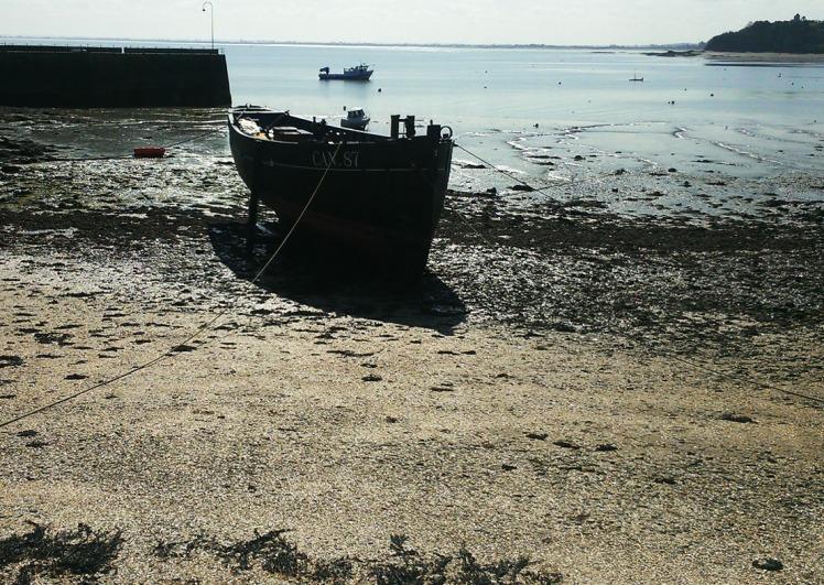 Cancale; bateau