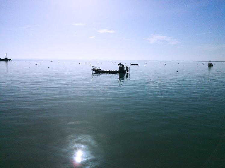 Cancale. marée haute