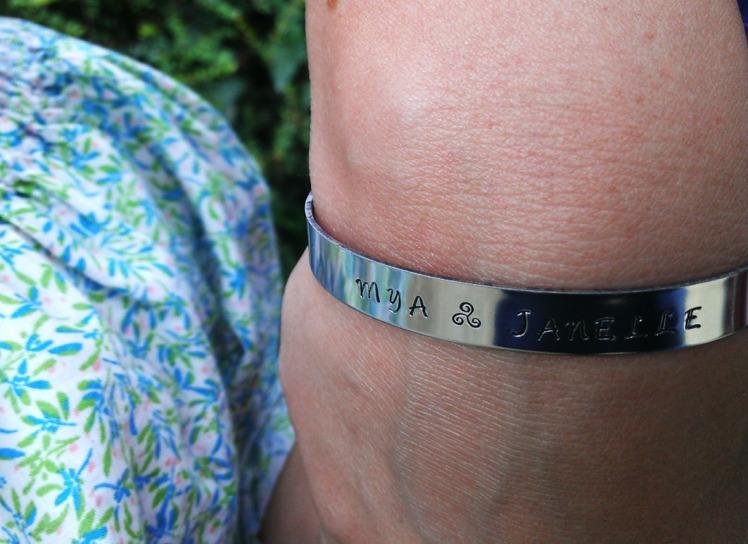 bracelet gravé - Fête des remparts 2014 Dinan