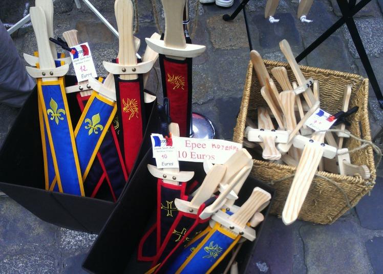 épée - Fête des remparts 2014 Dinan