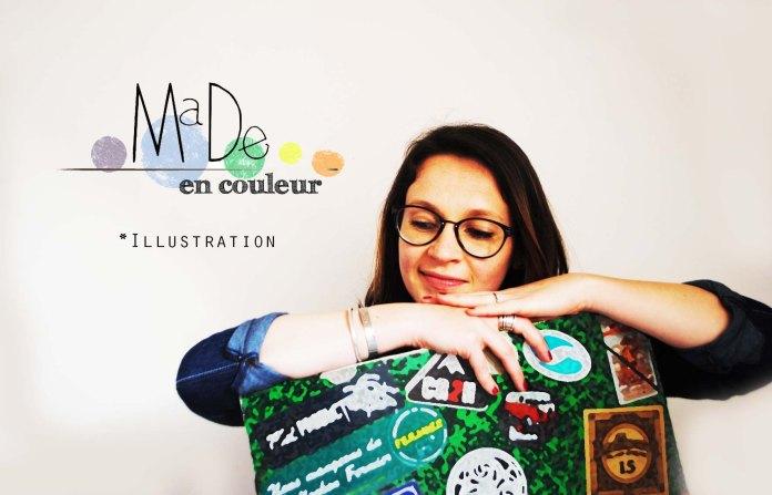 Portrait MaDe en couleur
